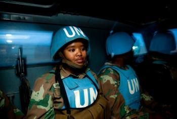Comandante diz que Darfur tem uma força da Unamid mais ágil e robusta. Foto: Unamid.