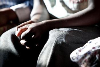 Dubravka Simonovic visitou dois municípios e uma prisão feminina, na África do Sul. Foto: Unicef