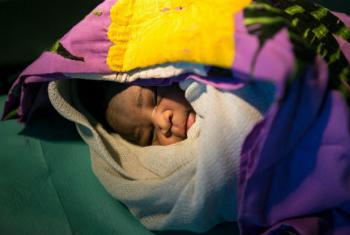 Bebê no Sudão do Sul. Foto: Unicef/Rich