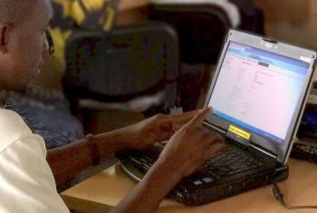 Aprendizagem virtual contra o crime. Foto: Unodc