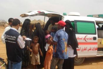 Foto: OMS Iêmen