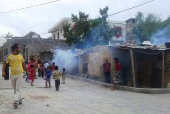 PMA pede liberdade e segurança de movimento no Iémen. Foto: OMS/Iémen.