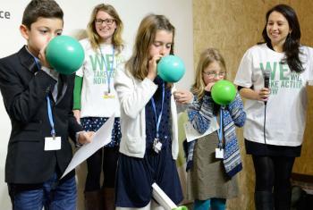 Dia dos Jovens e das Gerações Futuras na COP21. Foto: Unfccc