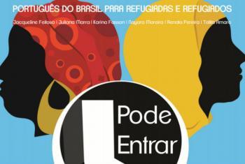 Capa da cartilha lançada pelo Acnur Brasil