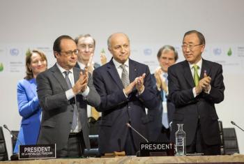 Ban Ki-moon pediu aos países que protejam o planeta. Foto: Unfccc.
