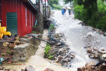 Estado de Chin, em Mianmar. Até o momento, não há relatos de impactos nos estados de Chin e Sagaing, em Mianmar, onde tremores também foram sentidos. Foto: Unicef/ Mohammad Badrul Hassan