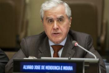 Embaixador Álvaro Mendonça e Moura. Foto: ONU/Loey Felipe