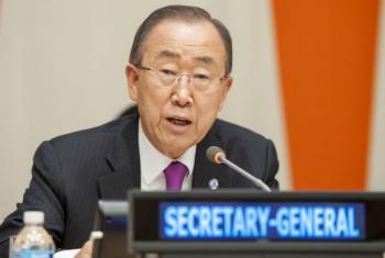 Secretário-geral, Ban Ki-moon. Foto: ONU