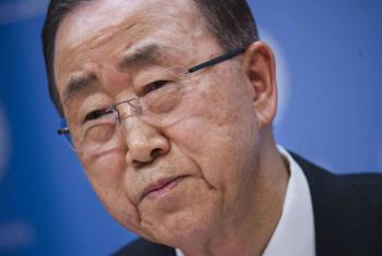 Ban Ki-moon afirmou que o extremismo violento é um golpe direto contra a Carta da ONU. Foto: ONU/Amanda Voisard