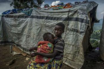 Deslocados internos em Kivu do Norte, na RD Congo. Foto: Acnur/F.Noy