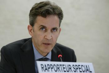 O relator especial sobre a promoção e proteção do direito à liberdade de opinião e expressão, David Kaye. Foto: ONU/Jean-Marc Ferré