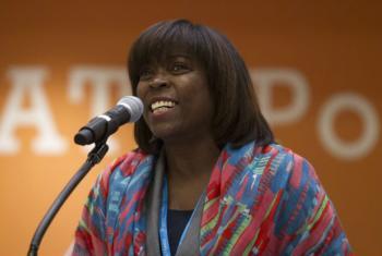 Diretora-executiva do PMA, Ertharin Cousin. Foto: ONU/Loey Felipe