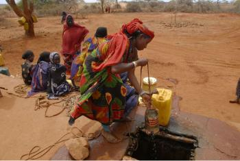 Área afetada pela seca na Etiópia. Foto: Unicef/UNI116888/Lemma