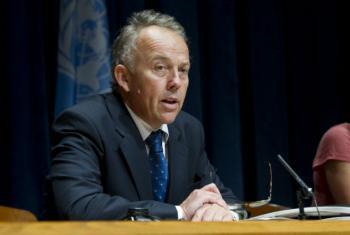 Michael Keating. Foto: ONU/Eskinder Debebe