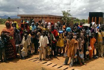 Beneficiários incluem deslocados pela violência do grupo Boko Haram. Foto: Ocha