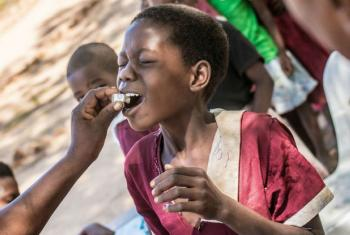 Campanha de vacinação contra a cólera. Foto: OMS/L. Pezzoli