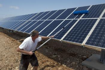 Grupo quer mobilizar ação envolvendo trilhões de dólares necessários para a transição energética mundial. Foto: ONU/Pasqual Gorriz