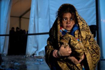 O inverno rigoroso na Europa representa um risco adicional para as crianças refugiadas.Foto: Unicef/Ashley Gilbertson VII