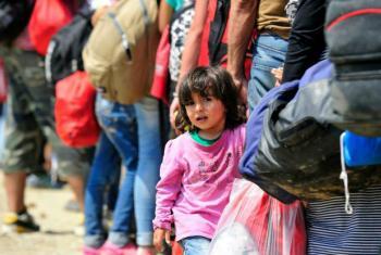 O Unicef afirma que os conflitos e as condições climáticas extremas estão forçando um número crescente de crianças a deixarem suas casas.Foto: Unicef/Georgiev