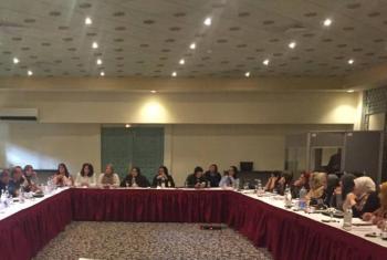 Encontro aborda unidade de empoderamento feminino sob o Conselho de Presidência. Foto: Unsmil.