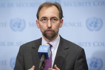 O alto comissário da ONU para os Direitos Humanos, Zeid Al-Hussein. Foto: ONU/Rick Bajornas