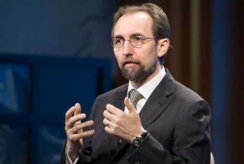 Alto comissário da ONU para os Direitos Humanos, Zeid Al-Hussein. Foto: ONU/Rick Bajornas