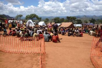 Refugiados moçambicanos em Kapise. Foto: Acnur/M. Mapila