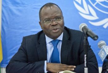 O coordenador humanitário da ONU na República Centro-Africana,Aurélien Agbénonci.Foto: ONU/Catianne Tijerina