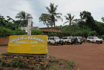 "Bambari foi declarada ""cidade sem grupos armados""."