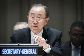 Ban Ki-moon falou nesta quarta-feira na sede da ONU em Nova York. Foto: ONU/Mark Garten
