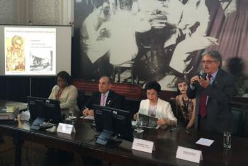 Coletiva de imprensa na sede da Fiocruz, no Rio de Janeiro. Foto: Fiocruz, Opas