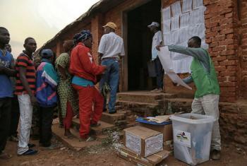 Eleições na República Centro-Africana. Foto: Minusca