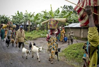 A Região dos Grandes Lagos é uma das mais povoadas no continente africano. Foto: Irin/Siegfried Modola