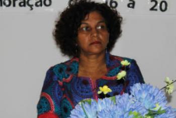 Cristina Fontes Lima. Foto: Ministério da Saúde de Cabo Verde