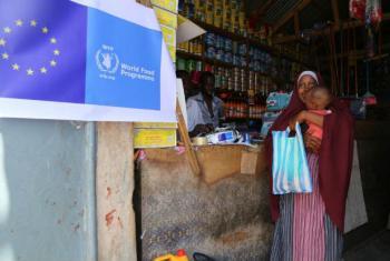 PMA fornece assistência aos deslocados no Chade e Camarões. Foto: PMA