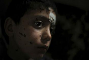 Segundo a porta-voz da OMS, entre 23 de setembro e 2 de outubro, 342 pessoas foram mortas no local, sendo que 106 eram crianças.Foto: Unicef/Kate Brooks