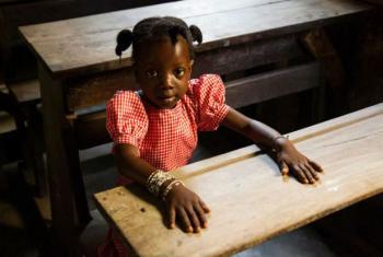 A educação continua a ser um desafio que é associado às áreas de liderança e gestão escolar.Foto: Unicef