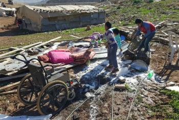 Segundo a ONU, forças israelenses destruíram, desmantelaram ou confiscaram 283 residências ou outros tipos de estruturas.Foto: Unrwa