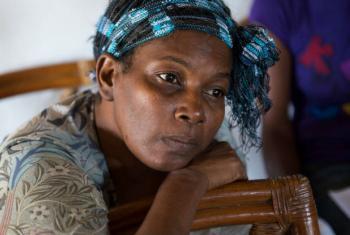 Sobrevivente do câncer de mama. Foto: OMS/S. Bones