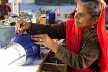 Dia Internacional da Mulher celebra um mundo equilibrado para todos. Foto: ONU Mulheres/Gaganjit Singh
