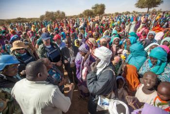 Deslocados em Darfur. Foto: UNAMID/Hamid Abdulsalam