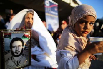 Menina em Trípoli, na Líbia. Foto: ONU/Iason Athanasiadis (arquivo)