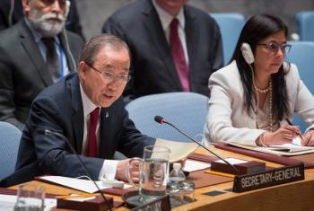 Secretário-geral da ONU, Ban Ki-moon. Foto: ONU/Manuel Elias
