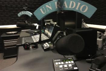 Estúdios da Rádio ONU em Nova York. Foto: Edgard Júnior.