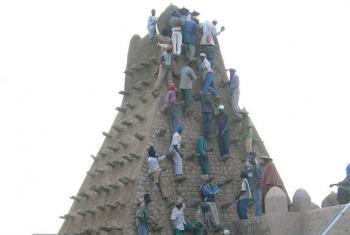 Património Cultural de Timbuktu, no Mali. Foto: Unesco/F. Bandarin