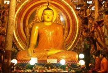 Templo budista no Sri Lanka. Foto: Irin.