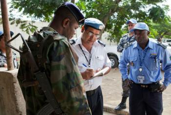 Patrulha da ONU na Costa do Marfim. Foto: ONU/Patricia Esteve