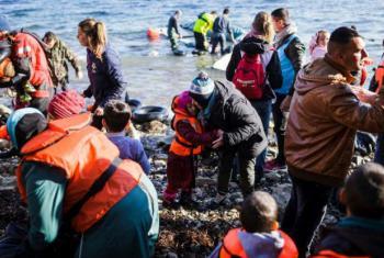 Refugiados sírios na Grécia. Foto: Acnur/A.Zavallis