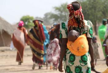 População na República Centro-Africana sofre com a falta de alimentos e baixa produção agrícola. Foto: Ocha/Gemma Cortes