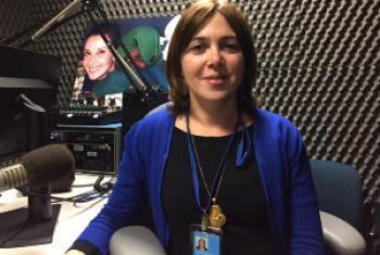 Catarina Marcelino. Foto: Rádio ONU